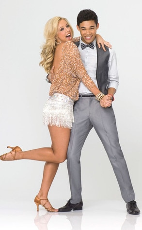 Dancing with the Stars, DWTS Season 14, ROSHON FEGAN & CHELSIE HIGHTOWER