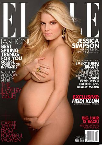 Jessica Simpson, Elle Cover