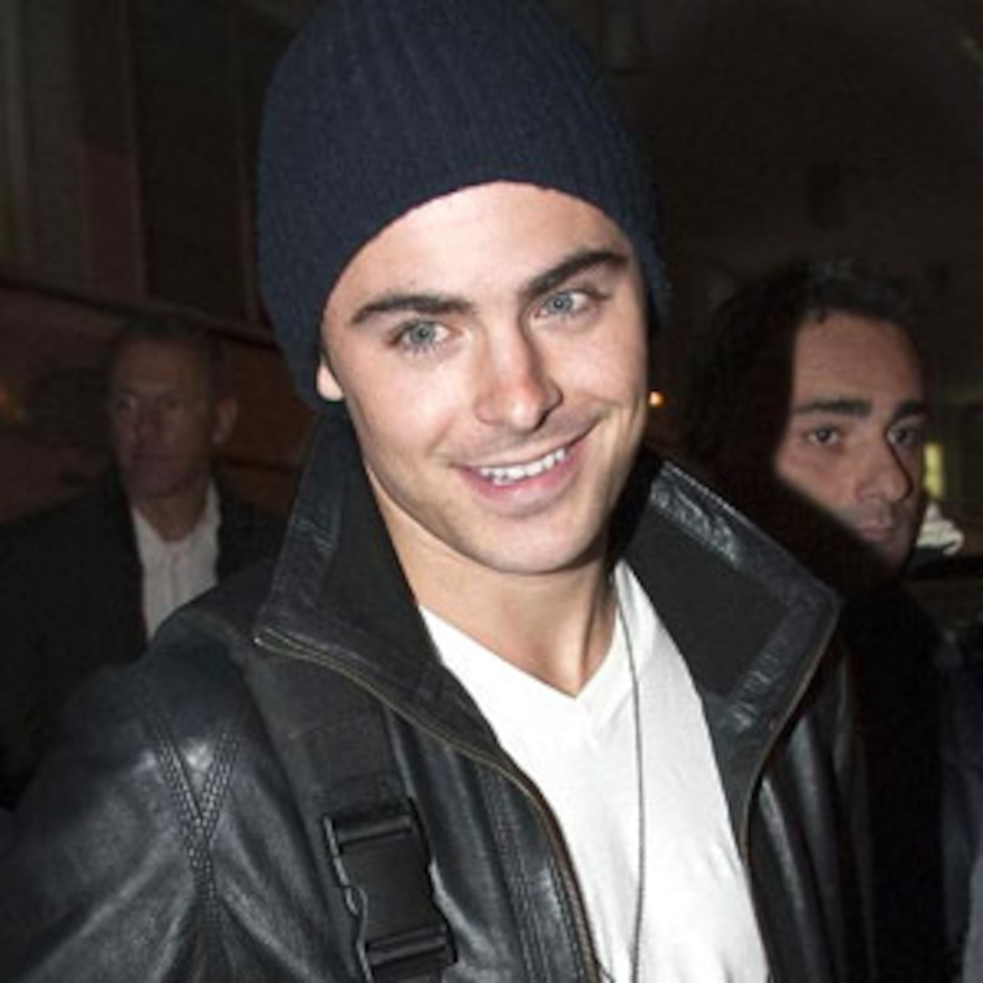 Zac Efron Swings With Rob Lowes Son After Rehab Reveal