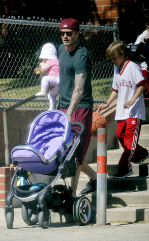David Beckham, Romeo, Harper