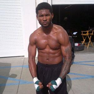 Usher, Twit Pic