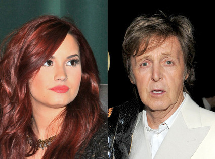 Demi Lovato, Paul McCartney