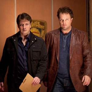 Castle, Adam Baldwin, Nathan Fillion