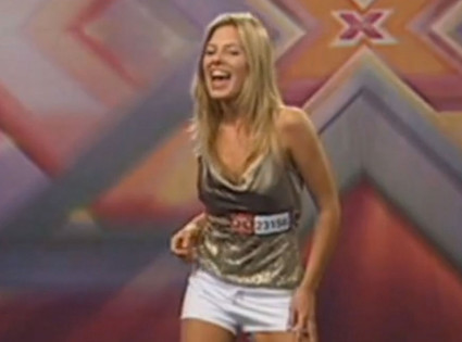 Mollie King, X-Factor Audition