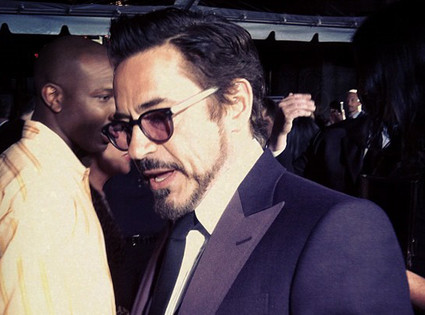 Robert Downey Jr, Twit Pic