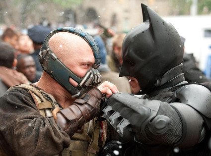Christian Bale, Tom Hardy, The Dark Knight Rises