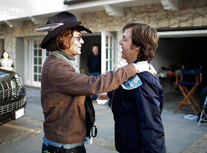 Johnny Depp, Paul McCartney