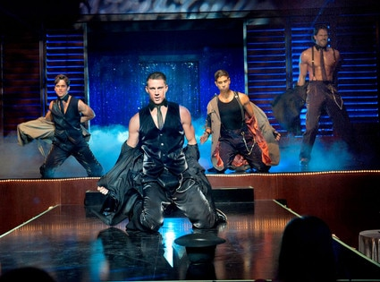 Matt Bomer, Channing Tatum, Adam Rodriguez, Joe Manganiello, Magic Mike