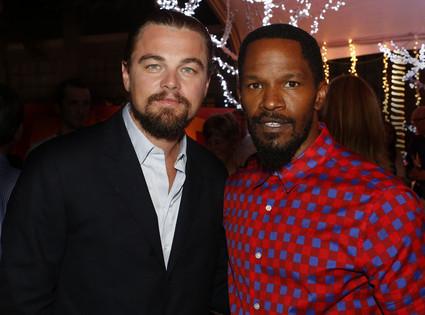 Leonardo DiCaprio, Jamie Foxx