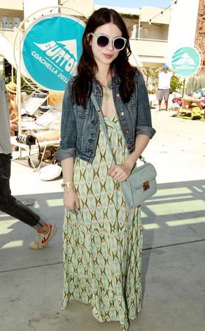 Coachella Festival, Michelle Trachtenberg
