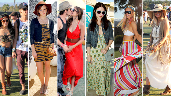 Vanessa, Emma, Nina, Michelle, Paris, Fergie at Coachella