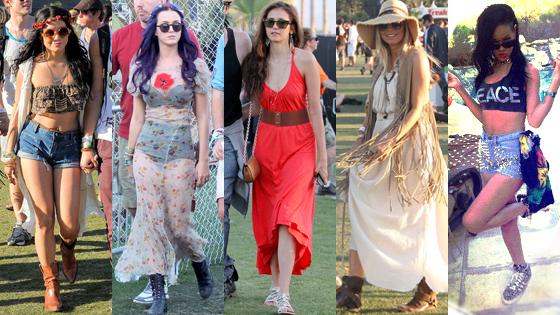 Vanessa Hudgens, Katy Perry, Nina Dobrev, Fergie, Rihanna