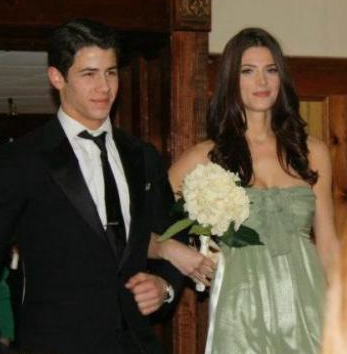 Nick Jonas y Ashley Greene