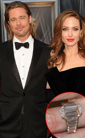 Brad Pitt, Angelina Jolie, Ring