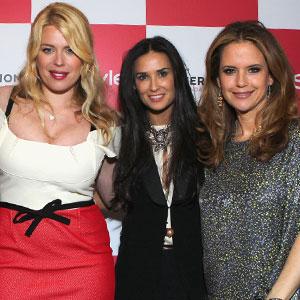 Amanda de Cadenet, Demi Moore, Kelly Preston