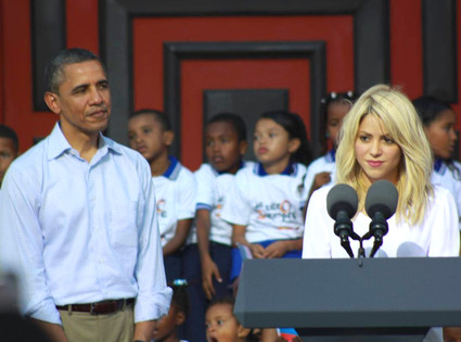 Barack Obama, Shakira