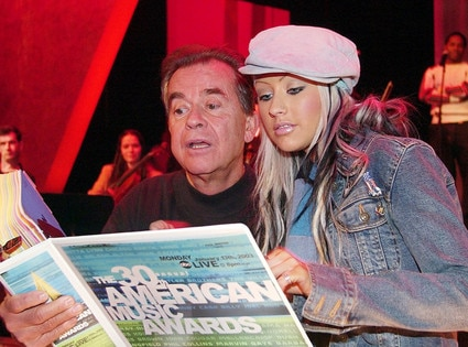 Dick Clark Obit, Christina Aguilera