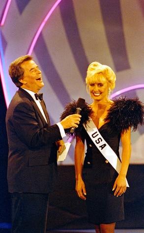 Dick Clark Obit, Miss USA Kelli McCarty
