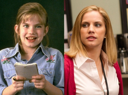 Then and Now, Anna Chlumsky