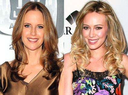 Kelly Preston, Hilary Duff