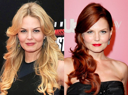 Jennifer Morrison Ditches Blonde Locks For Fiery Red Hair