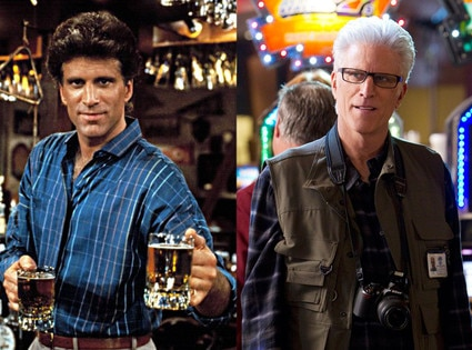 Then and Now, Ted Danson