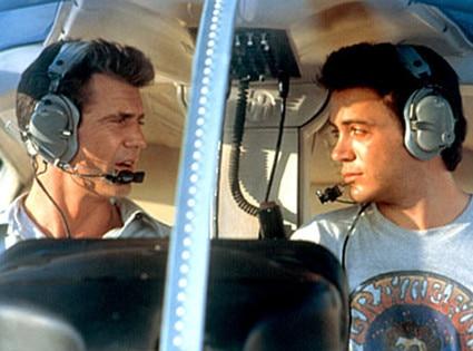 Air America, Mel Gibson, Robert Downey Jr.