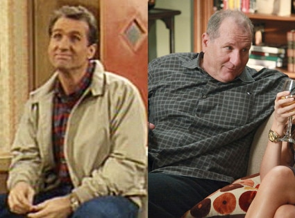 Then and Now, Ed O'Neill, Married With Children, Modern Family