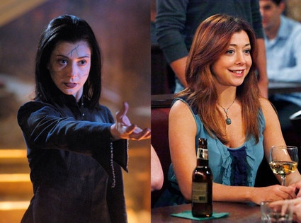 Then and Now, Alyson Hannigan, Buffy, HIMYM