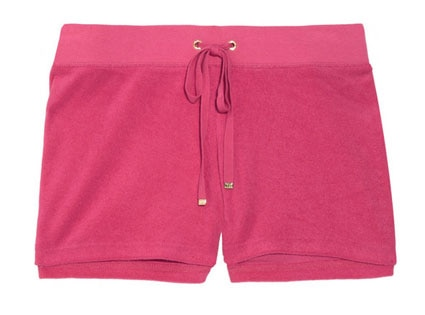 Sunrise Summer Style, Juicy Couture shorts