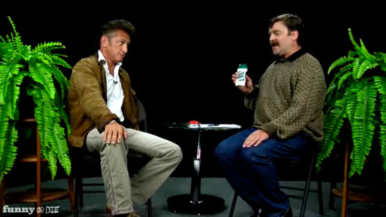 Between Two Ferns, Zach Galifianakis, Sean Penn