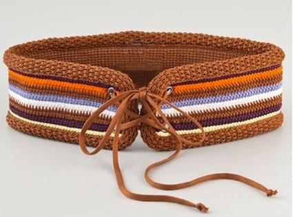 Crochet Summer Style, Missoni Belt