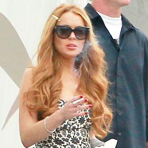 Lindsay Lohan, Glee