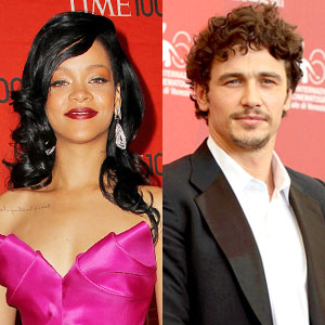 Rihanna, James Franco