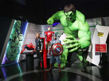 Marvel Madame Tussauds Wax Exhibit