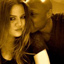 Khloe Kardashian Odom, Lamar Odom, Twit Pic