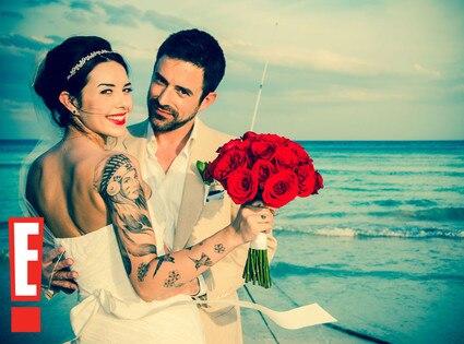 Evan Haines, Alexis Neiers Wedding