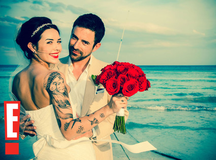 Evan Haines, Alexis Neiers Wedding