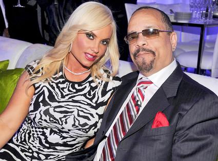 E! Upfront,  Coco and Ice-T