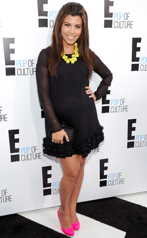 E! Upfront, Kourtney Kardashian