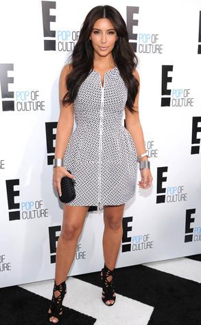 E! Upfront, Kim Kardashian