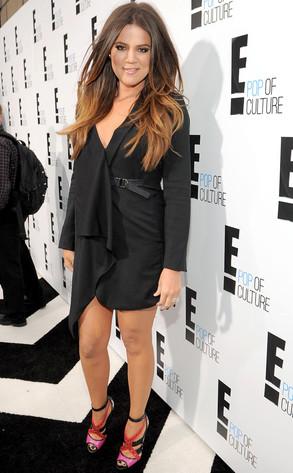 E! Upfront, Khloe Kardashian Odom