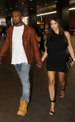 Kanye West, Kim Kardashan