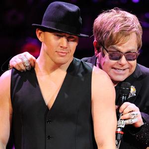 Channing Tatum, Sir Elton John