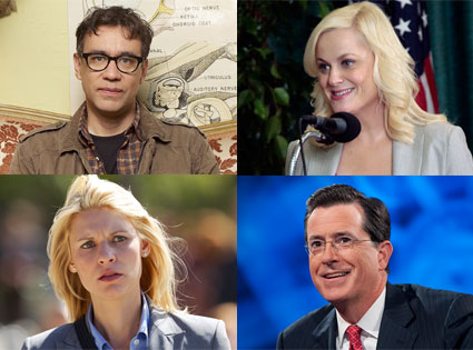 Colbert Report, Parks and Recreation, Homeland, Portlandia, Peabody Award
