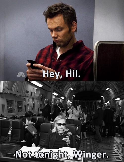 tumblr hillary clinton texts X3 Soup