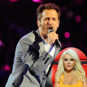 The Voice, Tony Lucca, Christina Aguilera
