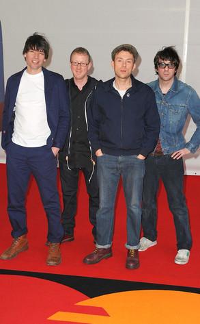 Alex James, Dave Rowntree, Damon Albarn, Graham Coxon, Blur