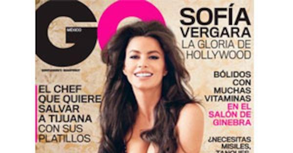 Sofia Vergara Goes Topless For Gq Mxico, Men Everywhere -5892