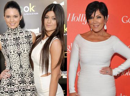Kris Jenner, Kendall Jenner, Kylie Jenner
